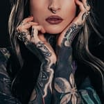 the girl with tattoos