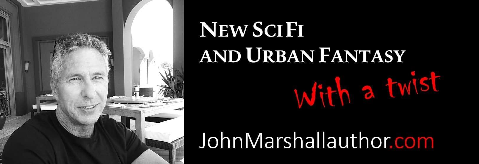 John Frank Marshall web site banner