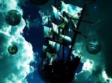 Urban fantasy novel - Sky Pirates